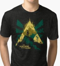 It's Dangerous To Go Alone Tri-blend T-Shirt