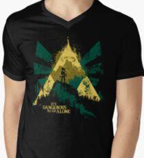 It's Dangerous To Go Alone Men's V-Neck T-Shirt