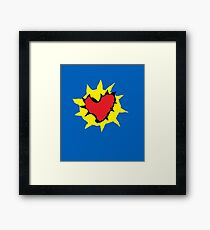 Set the controls for the heart of the sun.  Framed Print