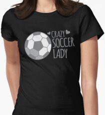 Crazy Soccer Lady T-Shirt