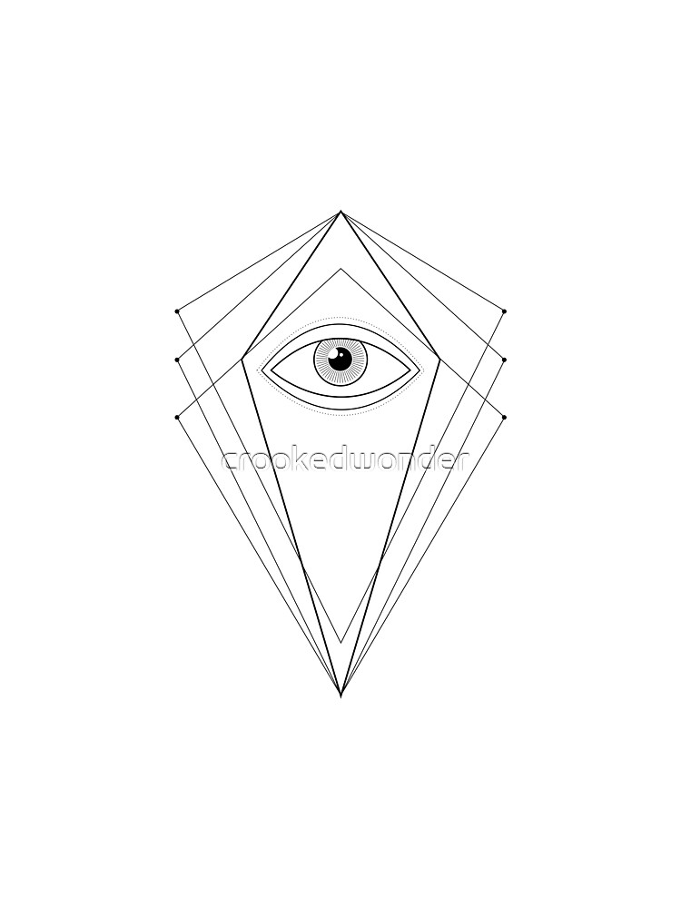 All seeing eye by crookedwonder