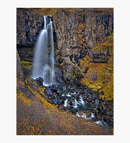Hundafoss, Iceland Photographic Print