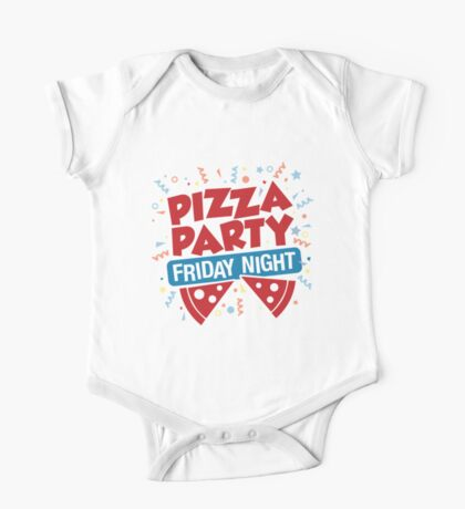 Pizza Party Friday Night Kids Clothes