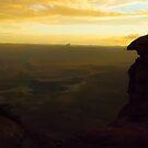 Canyonlands - Luminant Rain by Robert C Richmond