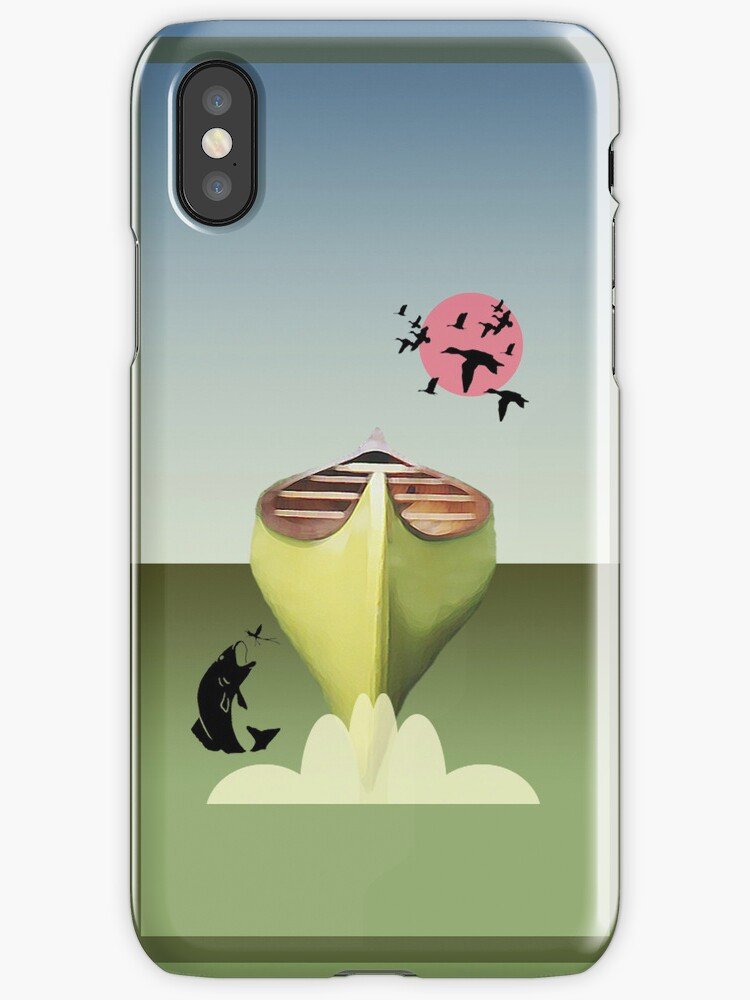 Phone case: Canoeing in Belgium by Steven House