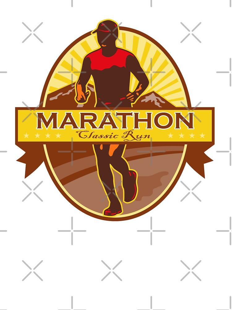 Marathon Classic Run Retro by patrimonio