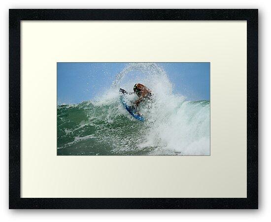 Surfing In A Bubble by Noel Elliot