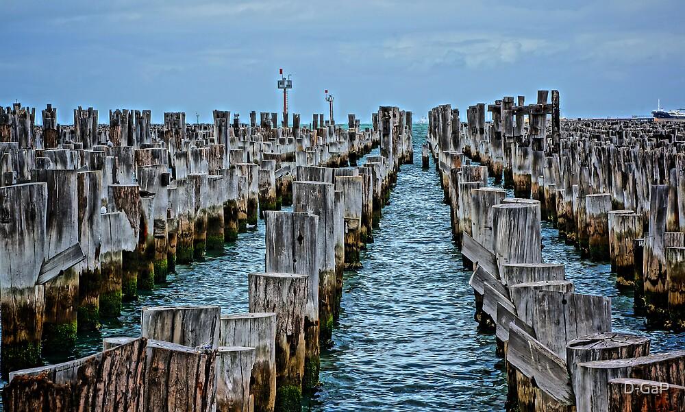 Princes Pier Port Melbourne Vic HDR by D-GaP