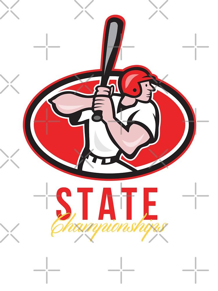 Baseball Player State Championships by patrimonio