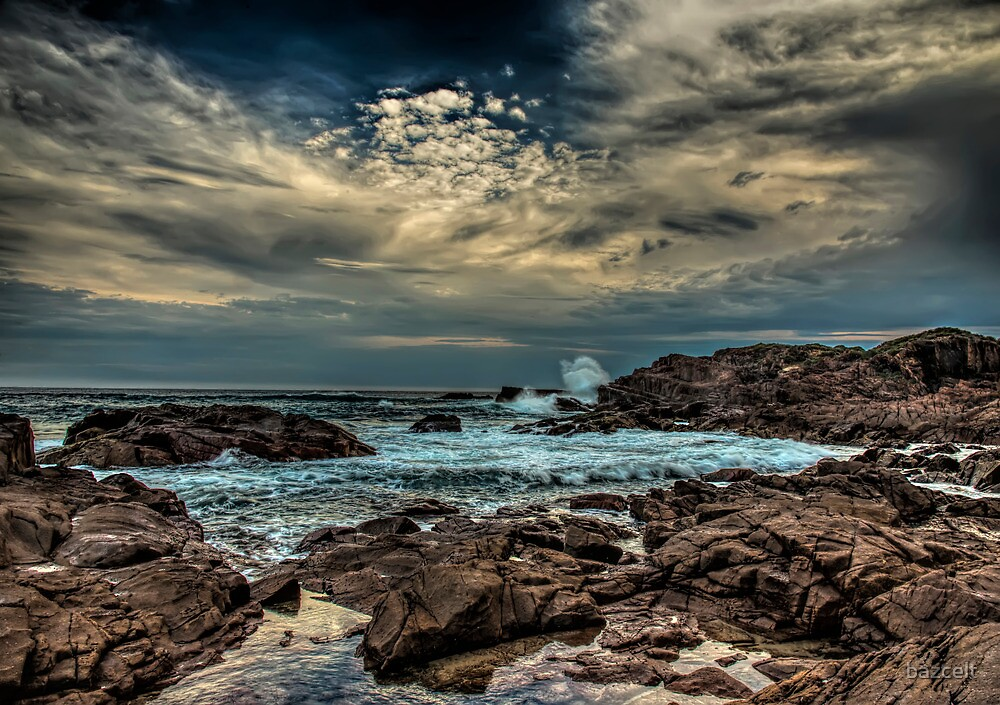 Wild Weather at Sea by bazcelt