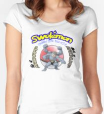 Pokemon - Be a Machamp Women's Fitted Scoop T-Shirt