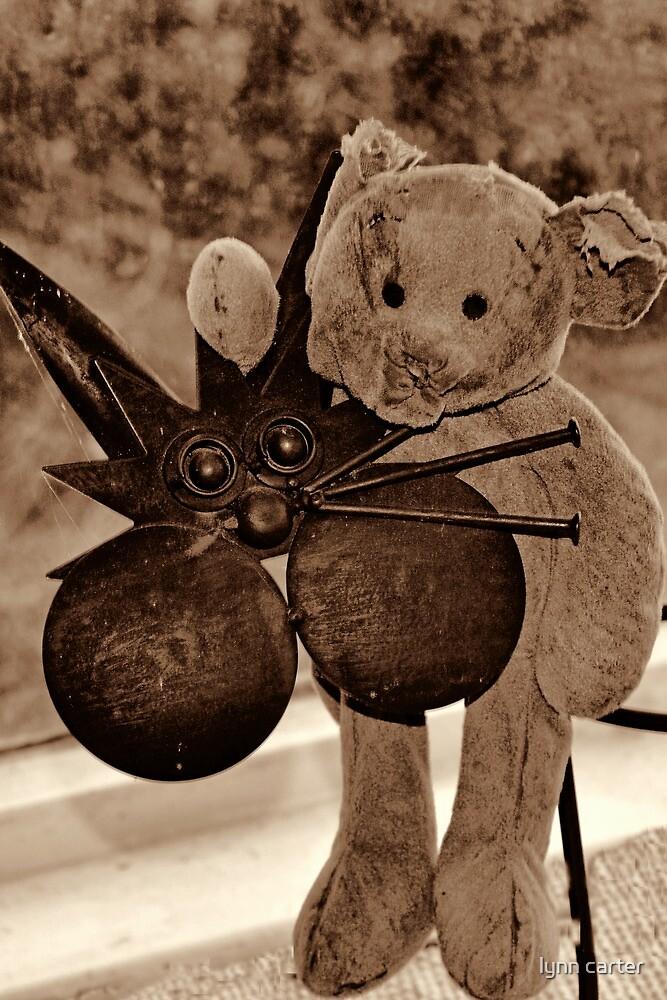 Much Loved Teddy Bear....... by lynn carter