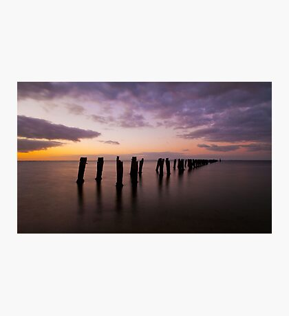Clifton Springs Sunset Photographic Print