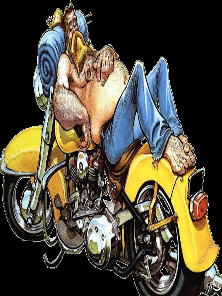 biker's bed by harleyflint
