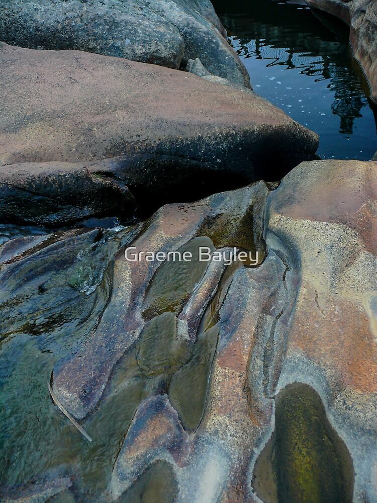 Water-Worn Rocks by Graeme Bayley