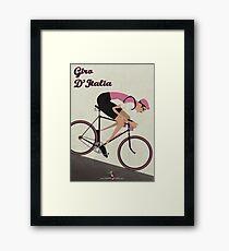 Giro D'Italia Framed Print