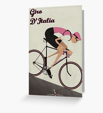 Giro D'Italia Greeting Card