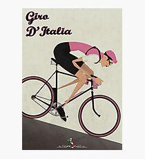 Lámina fotográfica Giro D'Italia