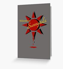 Welcome to Sunnydale Greeting Card