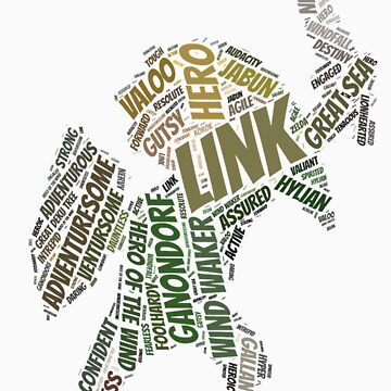 Wordle Toon Link 2 by LinkXavier