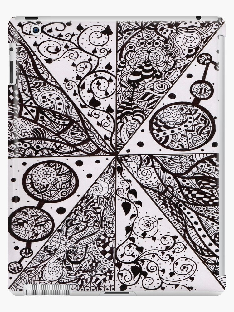 Ink Pattern Drawing 2 by Giinger