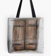 Plank Shutters Tote Bag