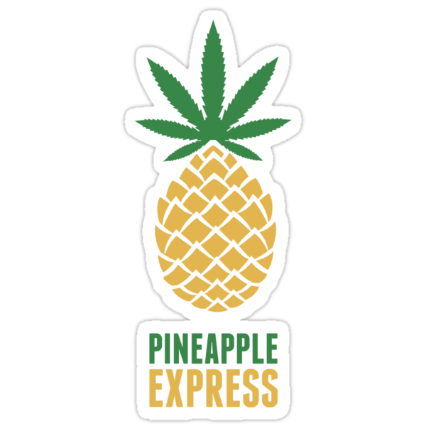 pineapple express stickers by matt owen redbubble. Black Bedroom Furniture Sets. Home Design Ideas