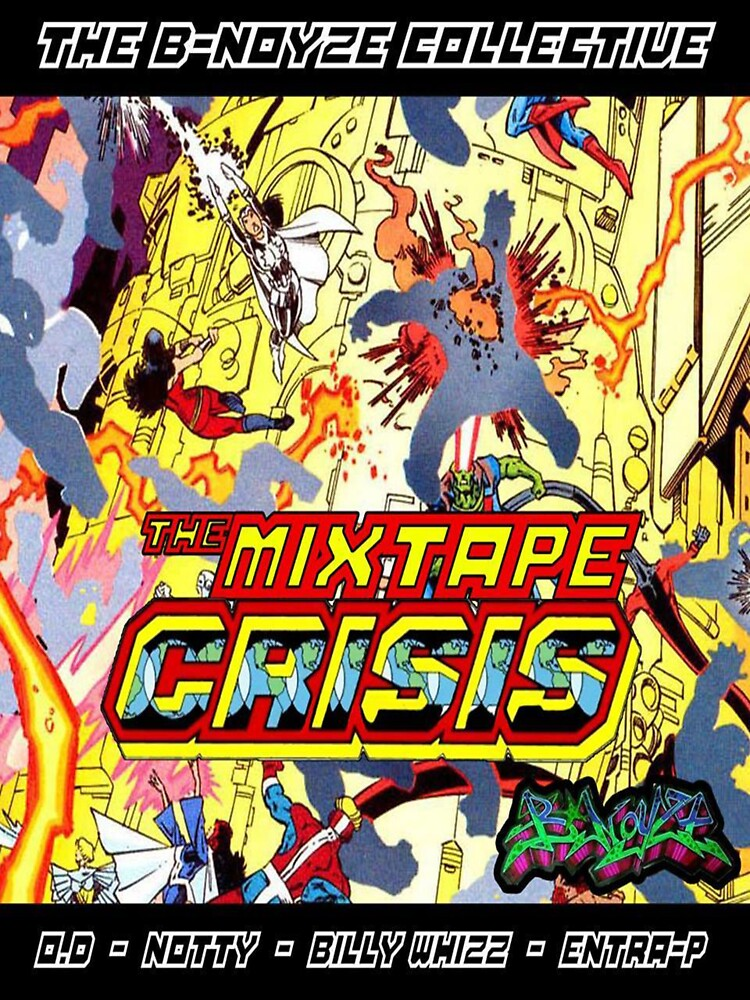 The Mixtape Crisis Tee by BillyWhizZ