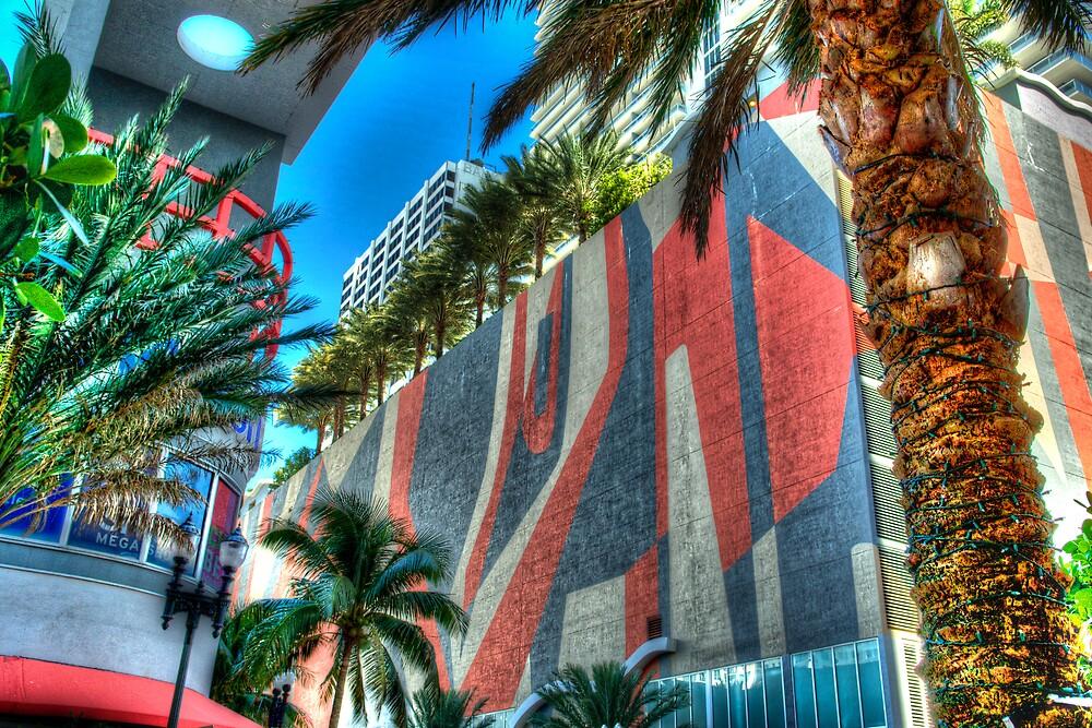 Miami Skyline by jvoweaver