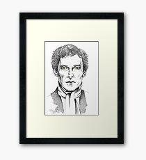Portrait of Jeremy Brett  Framed Print