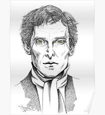Portrait of Jeremy Brett  Poster