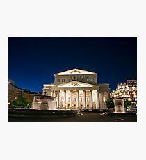 Bolshoi Theatre Photographic Print