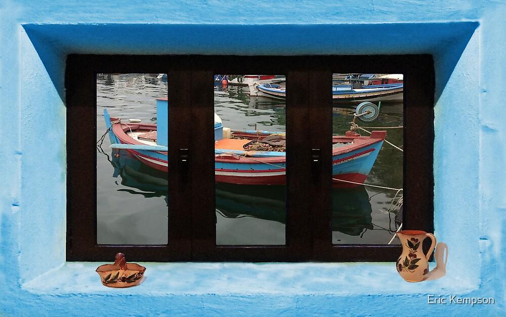Window Into Greece 6 by Eric Kempson
