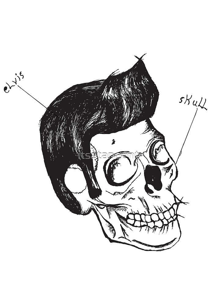 Elvis's Hair Is Immortal. by itsatangent