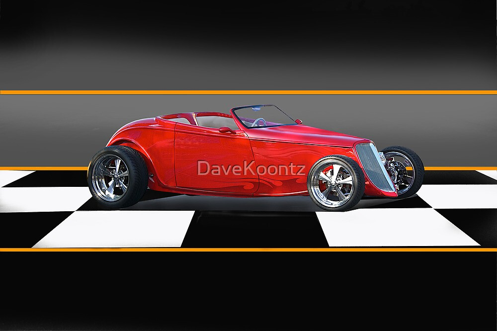 1933 Ford 'Little Red' Roadster by DaveKoontz