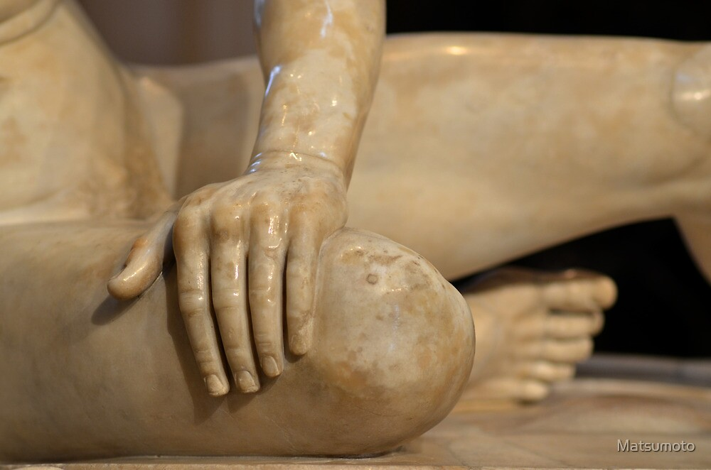 The Dying Gaul - Detail (hands and feet)  2014.01.29 by Matsumoto