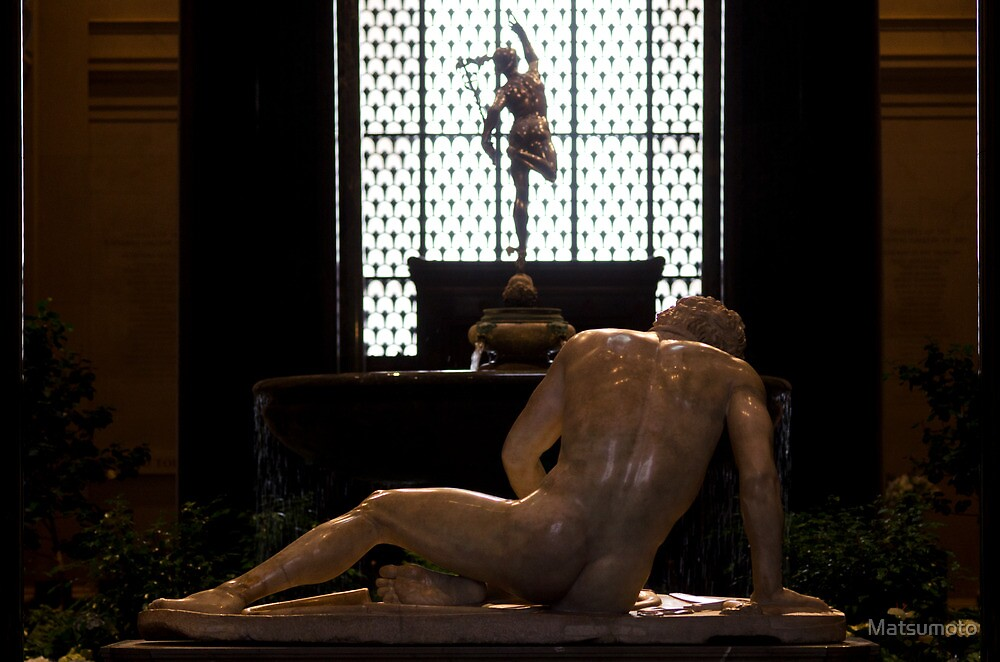 The Dying Gaul and Apollo - The National Gallery of Art - Washington D.C. by Matsumoto