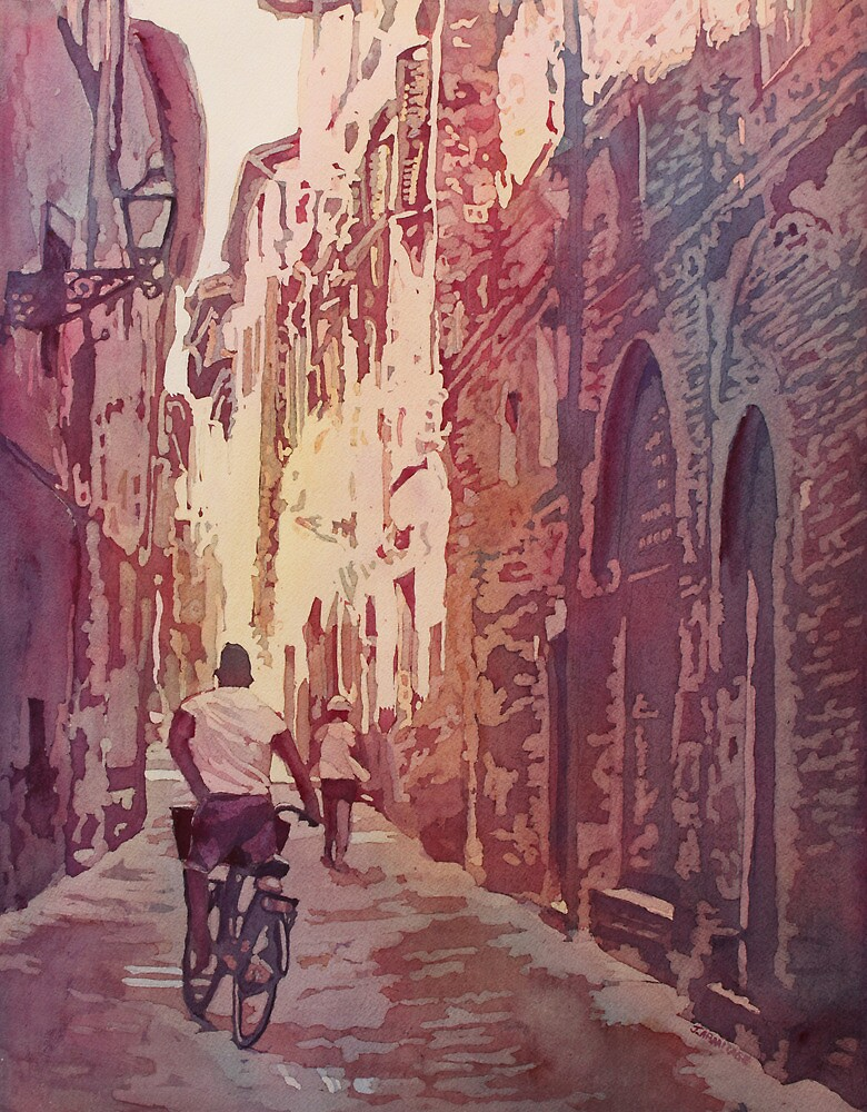 Bike Lucca by JennyArmitage