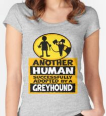 Another Human Women's Fitted Scoop T-Shirt