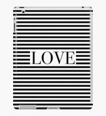 Monochromatic Love iPad Case/Skin