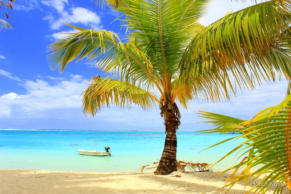 Moorea Island Beach by Honor Kyne