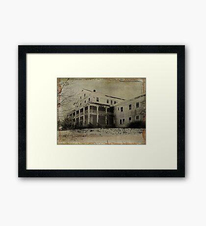 White Lake Mansion House Framed Print