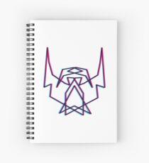 3D THEBEARDEDHOMO Spiral Notebook