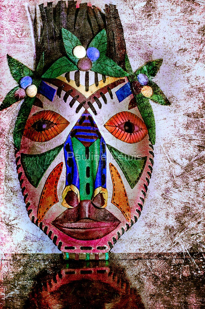 Cuban Mask by Pauline Lewis