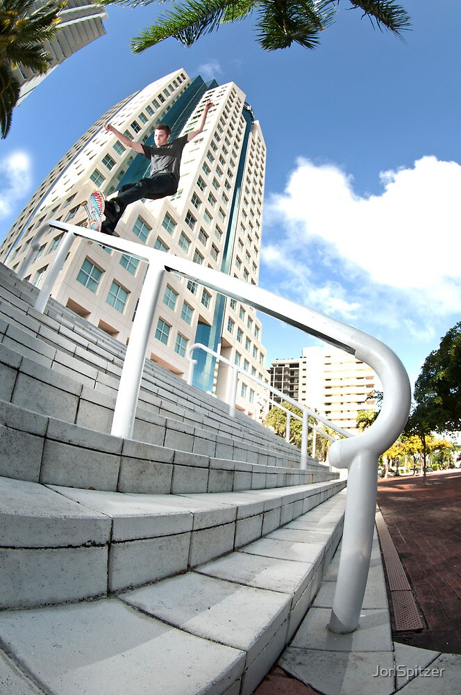Chad Poore - Front Feeble by JonSpitzer