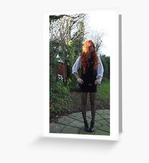Amy Pond (The Eleventh Hour)  Greeting Card