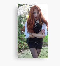 Amy Pond (The Eleventh Hour 2)  Canvas Print