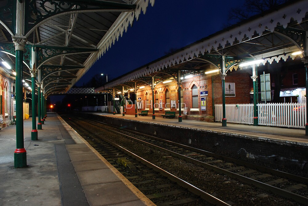 Hale Station at Night by DMHotchin