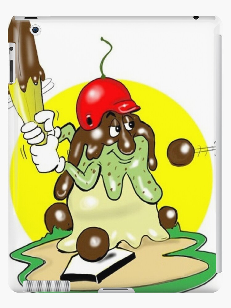 BASEBALL CARTOON TABLET CASE by InspireCartoons