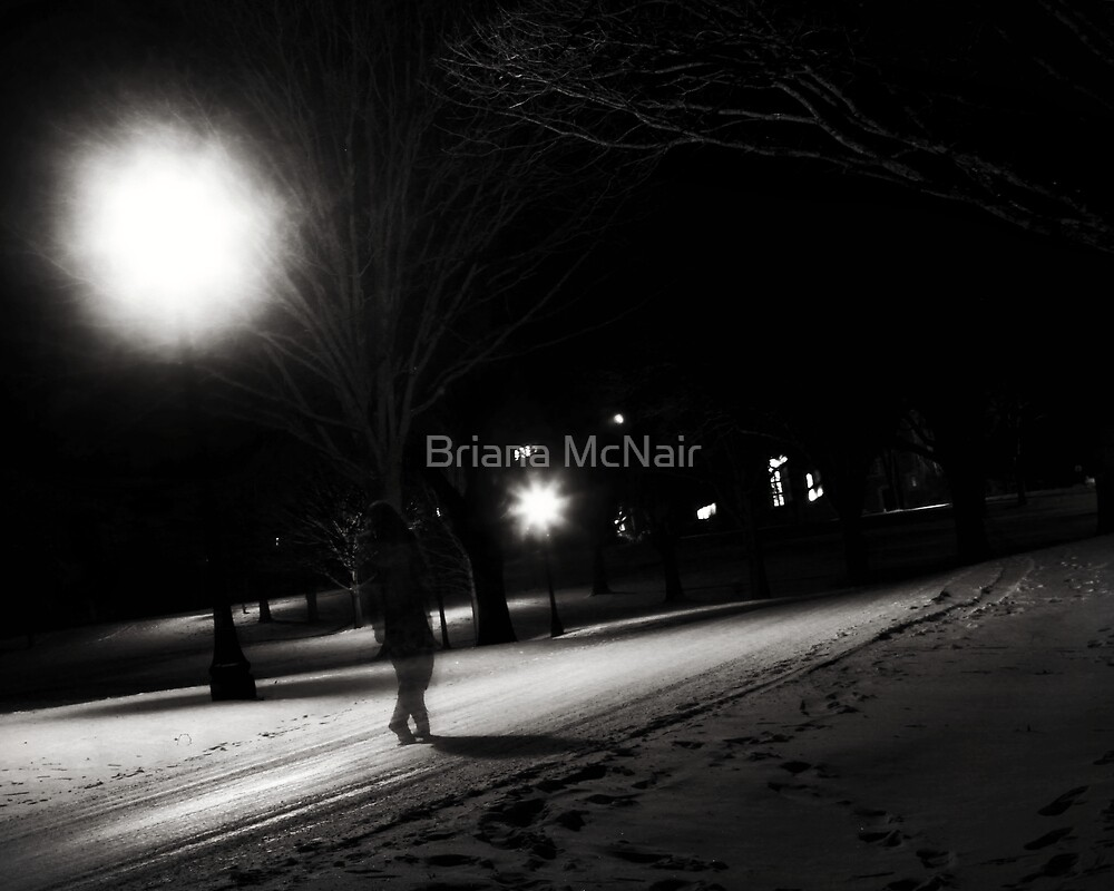 Once Upon a Midnight Stroll by Briana McNair